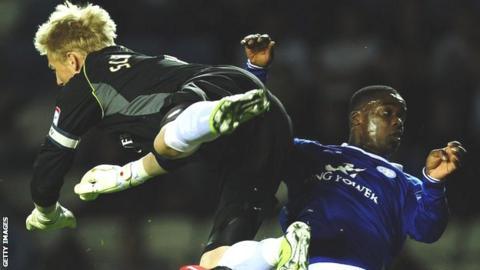 Leicester's Kasper Schmeichel