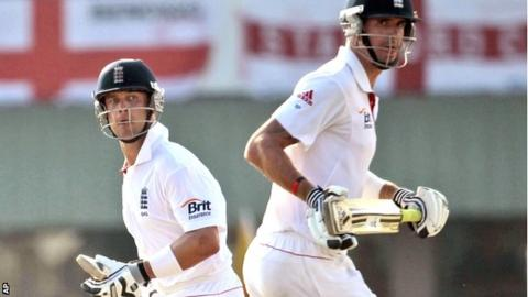 Jonathan Trott and Kevin Pietersen hold the key to England's chances of a record Test run chase