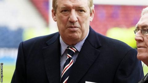 Murray sold Rangers to Whyte last year and recently said it had been a mistake