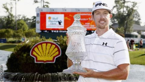 Hunter Mahan defeated Rory McIlroy in the final of the WGC Match Play in Arizona in February