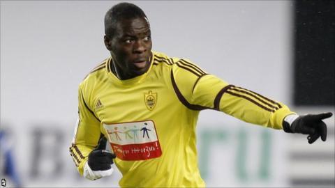 Congo and Anzhi Makhachkala defender Christopher Samba