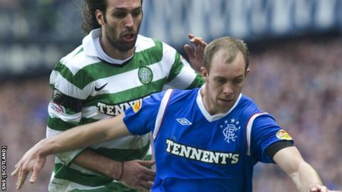Celtic will host Rangers in the final Old Firm derby of the season