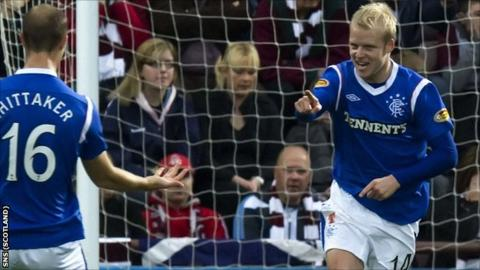 Rangers forward Steven Naismith