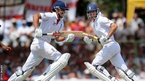 Alastair Cook and Andrew Strauss