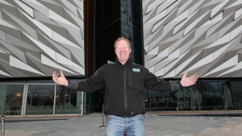 Noel Molloy oversaw the Titanic Belfast project which opened last week