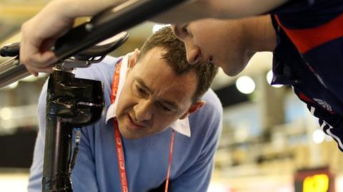 Chris Boardman has revealed he plans to quit British Cycling after London 2012