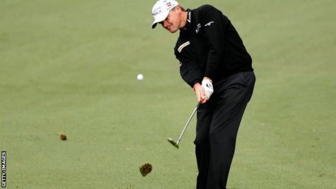 Scotland's Paul Lawrie at Augusta National