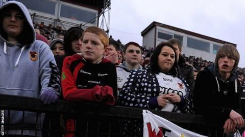 Bradford Bulls fans