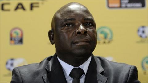 South African FA president Kirsten Nematandani