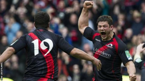 Edinburgh beat Toulouse to reach the last four of the Heineken Cup