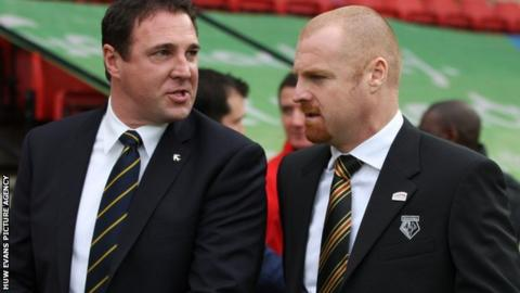Malky Mackay and Sean Dyche