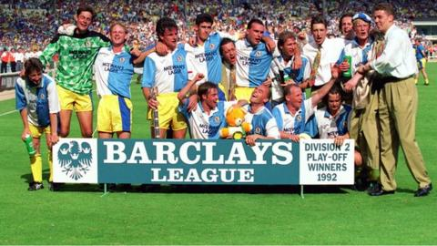 Blackburn Rovers 1992