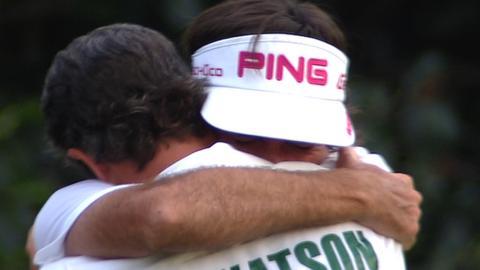 2012 Masters champion Bubba Watson