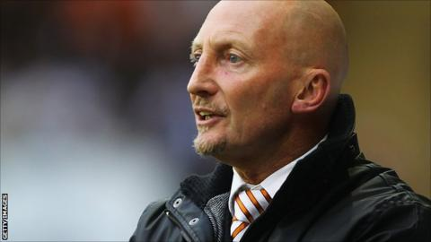 Blackpool manager Ian Holloway