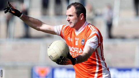 Steven McDonnell in action for Armagh last year