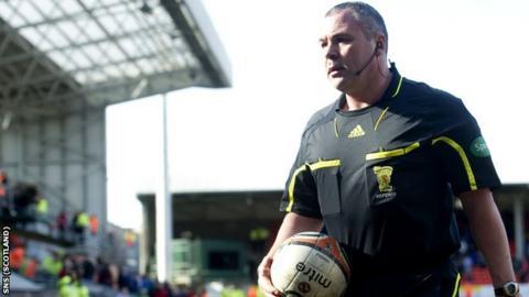 Referee Brian Winter