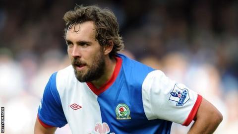 Blackburn defender Gael Givet