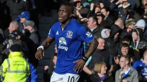 Everton midfielder Royston Drenthe