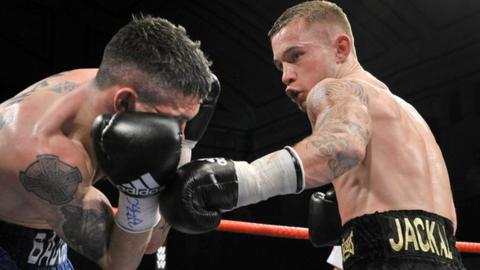 Carl Frampton (right)