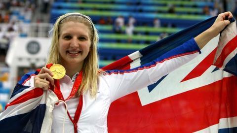 Double Olympic champion Rebecca Adlington