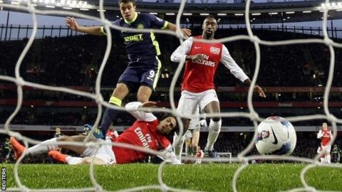 Franco di Santo scores for Wigan