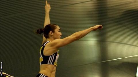 Scottish long-jumper Jade Nimmo