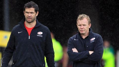 Andy Farrell and Mark McCall