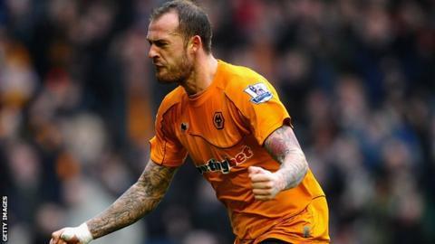 Wolves striker Steven Fletcher