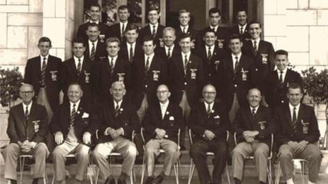 GB's football team at the 1960 Olympics