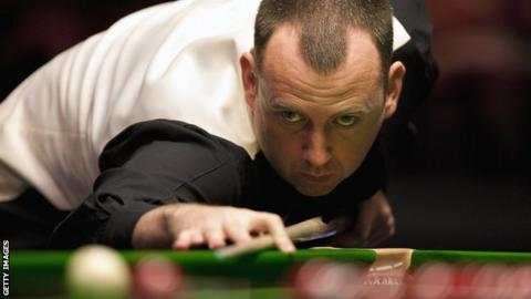 Snooker Grand Prix Mark Williams Plays Down Chances Bbc Sport