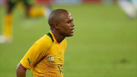 Bafana Bafana winger Thulani Serero