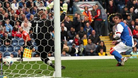 Mauro Formica scores for Blackburn