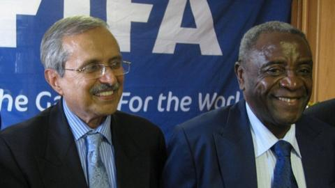 Justice Ebrahim and Cuthbert Dube