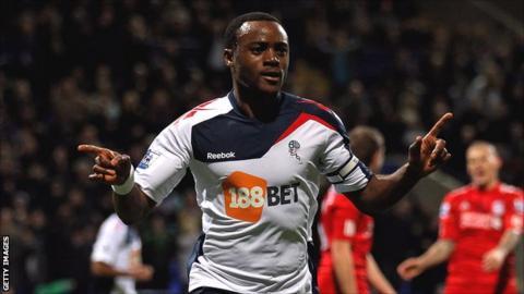 Bolton Wanderers midfielder Nigel Reo-Coker
