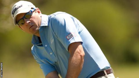 Ben Curtis wins his first PGA tournament in six years