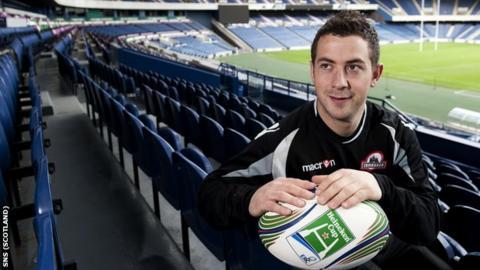 Edinburgh captain Greig Laidlaw