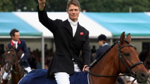 William Fox-Pitt was one of the favourites for individual gold at the Athens Olympics but his horse, Tamarillo, withdrew injured