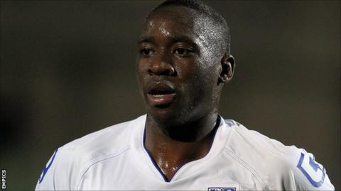 Tranmere Rovers striker Lucas Akins