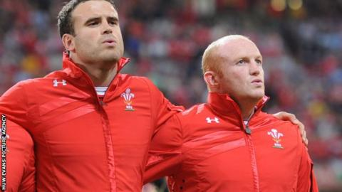 Jamie Roberts and Martyn Williams