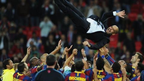 Barcelona's Pep Guardiola