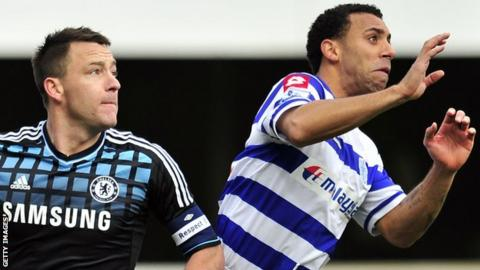 QPR defender Anton Ferdinand who faces John Terry on Sunday