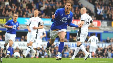 Jelavic scored twice before half time