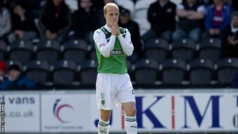 Griffiths was denied a penalty during the 1-0 defeat by St Mirren