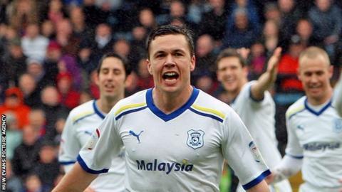Cardiff City midfielder Don Cowie