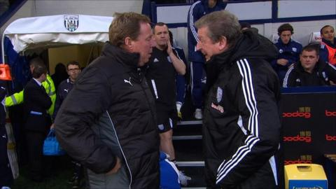 Harry Redknapp and Roy Hodgson