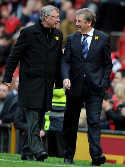 Sir Alex Ferguson & Roy Hodgson