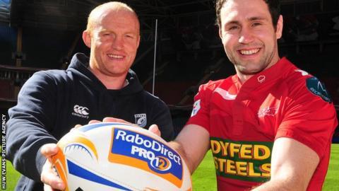 Martyn Williams and Stephen Jones