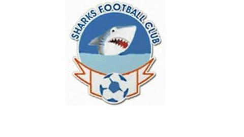 The logo of Nigerian club Sharks FC