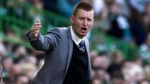 St Johnstone manager Steve Lomas