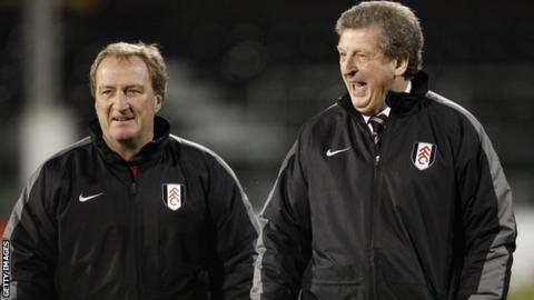 Ray Lewington and Roy Hodgson